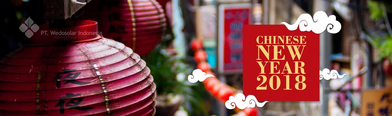 Chinese New Year 2018 PT. Wedosolar Indonesia