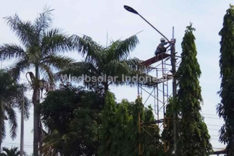 PBOX lampu tenaga surya PT. Wedosolar Indonesia